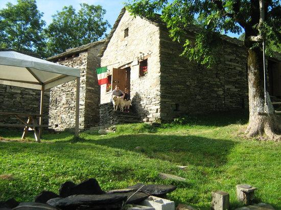 Vercelli, อิตาลี: il rifugio La Baita Alpe Seccio