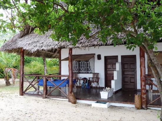 Chapwani Private Island: our private verandah