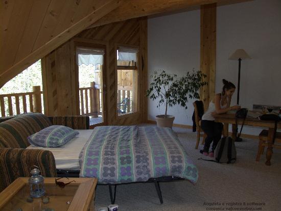 Logpile Lodge: our room 2