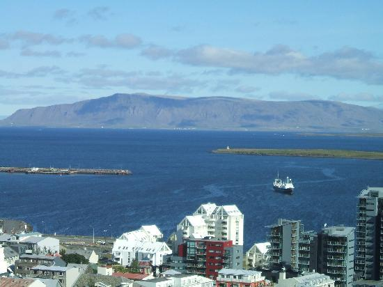 Reykjavik, Iceland: view from the church