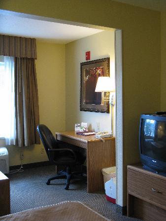 Holiday Inn Express Charleston/Kanawha City: King Room Furnishings