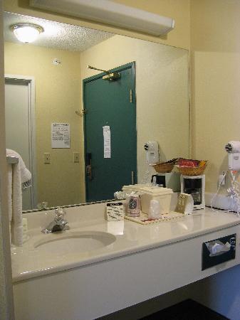 Holiday Inn Express Charleston/Kanawha City: King Room Vanity