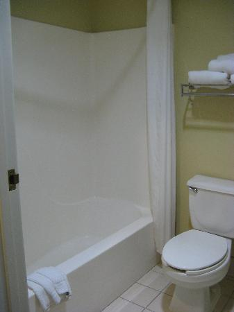 Holiday Inn Express Charleston/Kanawha City: Bath