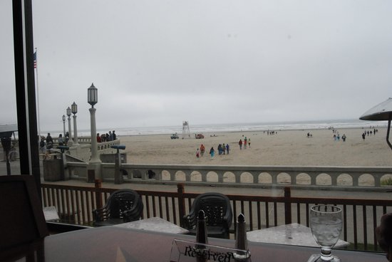 The Boardwalk Restaurant and Lounge: view
