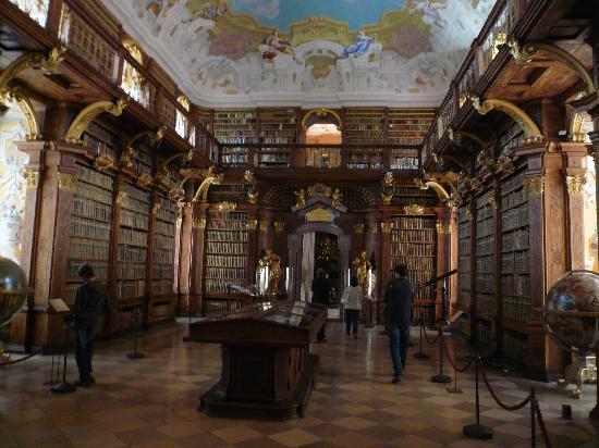 Melk, Autriche : die Bibliothek