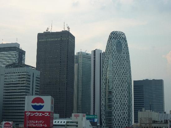 Hotel Sunroute Plaza Shinjuku: vue dernier étage