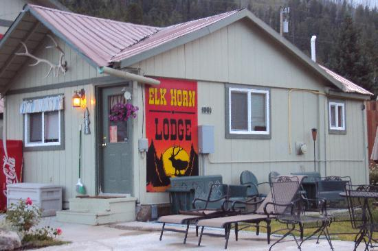 ‪‪Cooke City's Elk Horn Lodge‬: Elk Horn Office‬