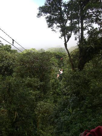 Santa Elena, Κόστα Ρίκα: Ziplining