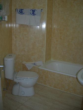 Hotel Agua Beach: bagno
