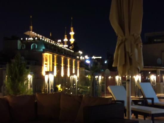 Hotel Amira Istanbul: Terrace