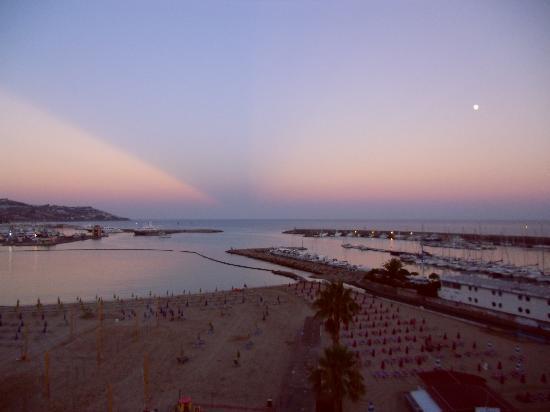 Residence dei Due Porti: Meerblick von der Sonnenterasse