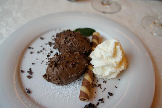Rheinhotel: Every night we were treated to delicious desserts