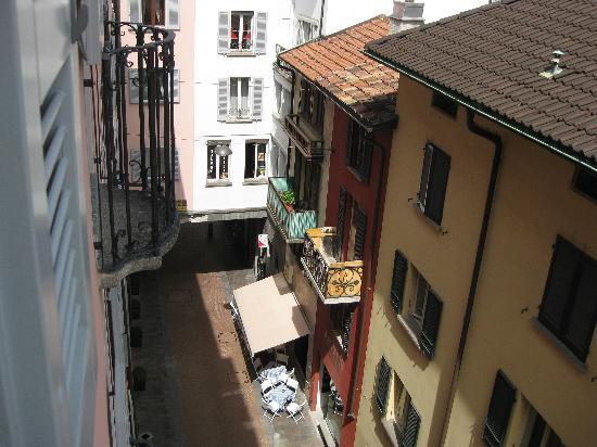 Lugano Dante Center Swiss Quality Hotel: outside my window