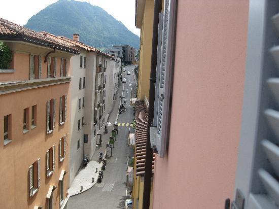 Lugano Dante Center Swiss Quality Hotel: outside my window
