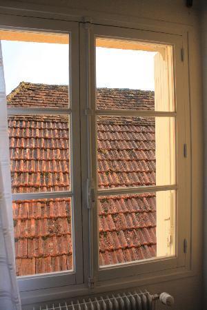 Hotel de France - Auberge du Musee : Chambre avec vue sur les toits