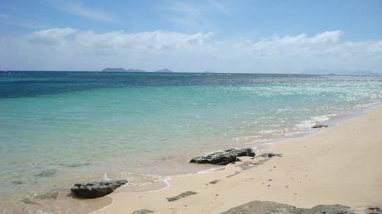 Tokoriki Island, Fiji: Nice part of the beach