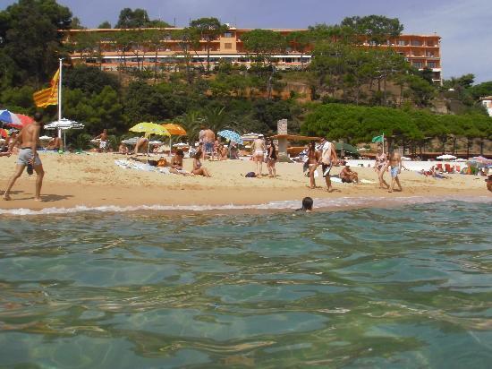 Hotel Santa Marta: Desde el agua