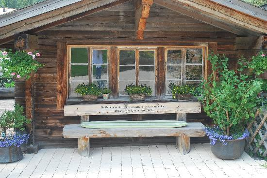 Saanenmoser, Schweiz: chalet where Diner can be served