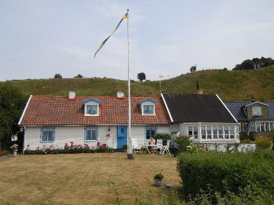 Typical house in Sweden