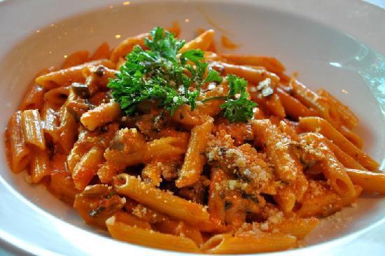 La Locanda Restaurant: Home made corkscrew pasta w/ our secret' meat sauce