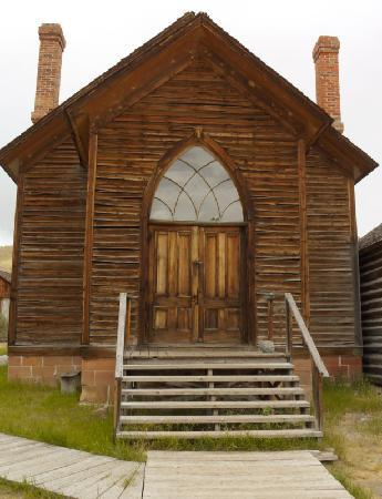 Dillon, MT: The town church.