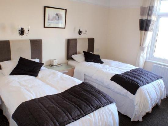 Penarth Guest House: The twin room