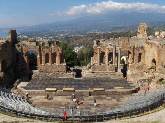 Mamma Maria: Greek Theater Taormina