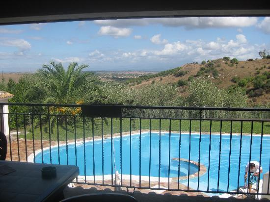 Carlentini, Italia: View from bedroom