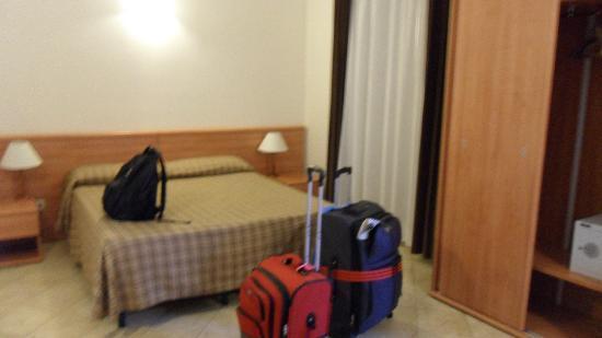 Principe Eugenio : Comfortable bed, very spacious room.
