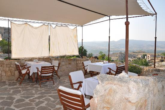 Esbelli Evi Cave Hotel: Esbelli Evi breakfast area