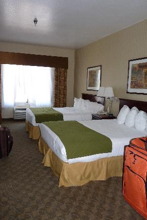 Holiday Inn Express Henderson : Bedroom