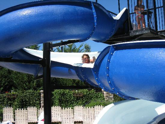 The Inn at Christmas Place: Water slide