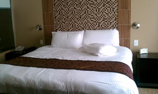 Casulo Hotel: The huge comfortable bed!
