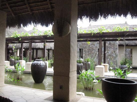 The Banjaran Hotsprings Retreat: Lobby area at the Banjaran
