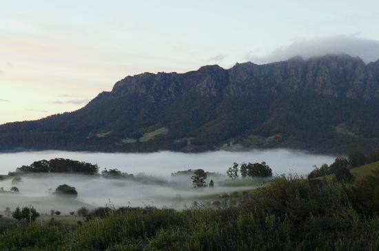Eagles Nest Retreat: Early Morning Fog