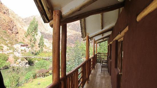Arco Iris del Puente Lodge: the balcony