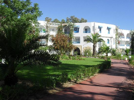 Club Eldorador Salammbo: vu batiment hotel