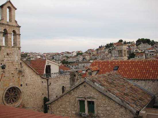 The ancient roof tops of Hvar