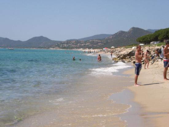 Muravera, Italien: Spiaggia dell'hotel