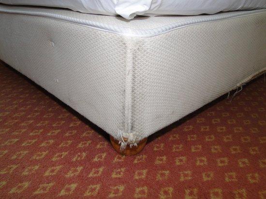 Strandhotel Ostseeblick: Bett im Topseezimmer 305