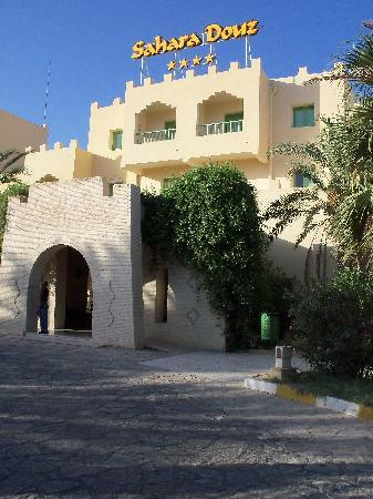 Hotel Sahara Douz: ingresso hotel