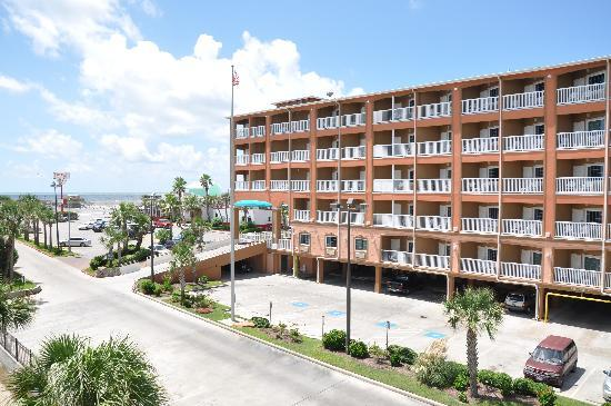 Quality Inn & Suites Beachfront: Gulf