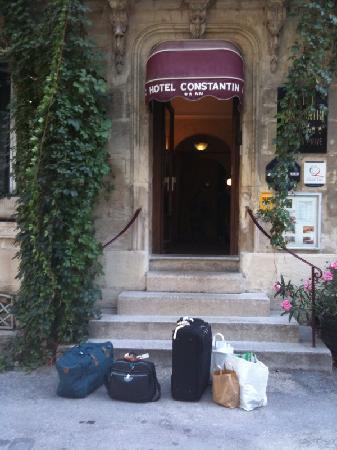 Hotel Constantin : Le départ ...