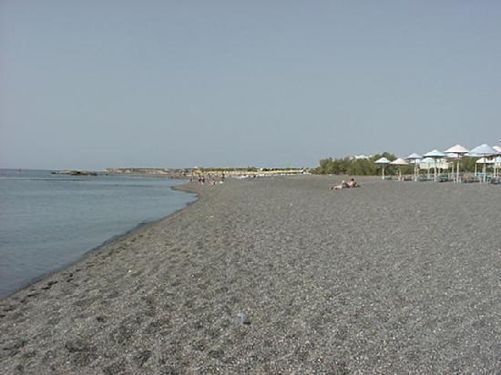 Aroma Creta Hotel Apartments & Spa : NICE PEBBLE BEACH