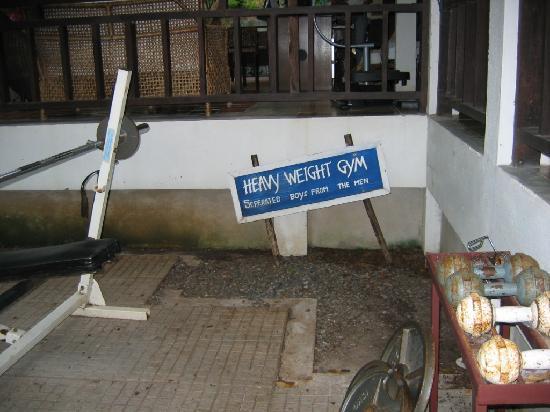 """Sarikantang Resort & Spa: the """"gym"""""""
