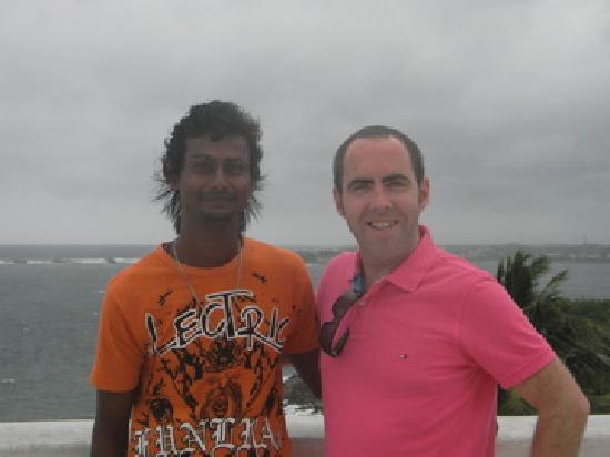 The Fortress: Me with Kushan our guide for the week