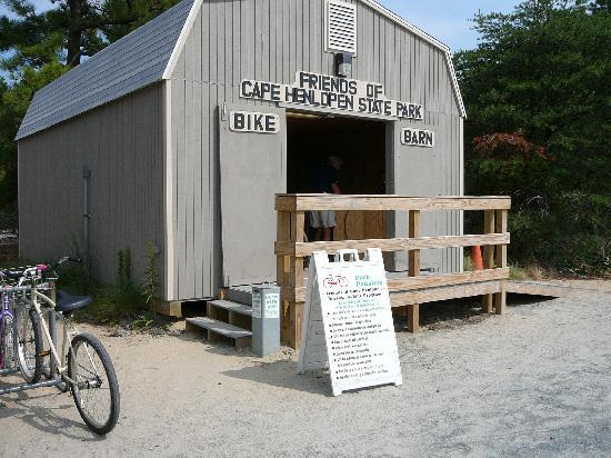 Lewes, DE: FREE Bike Rentals in CHSP at Bike Barn