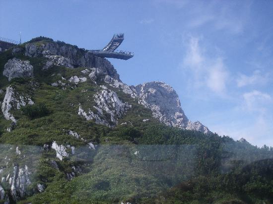 Aussichtsplattform AlpspiX: Alspix aus der Alpspitzbahn