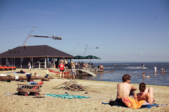 Kabelpark - Hvide Sande: Relaxed atmosphere & great chill out at the beach