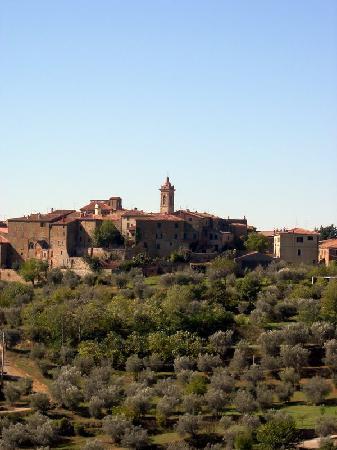 La casa di Lucia: vista su Castelmuzio